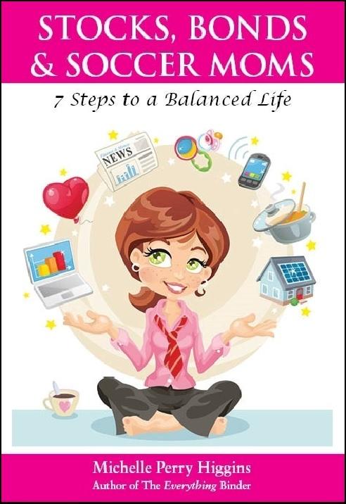 cover of the stocks, bonds, & soccer moms book